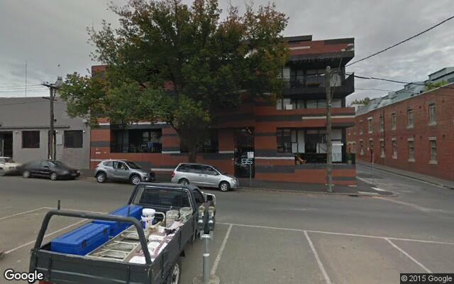 parking on Leveson Street in North Melbourne