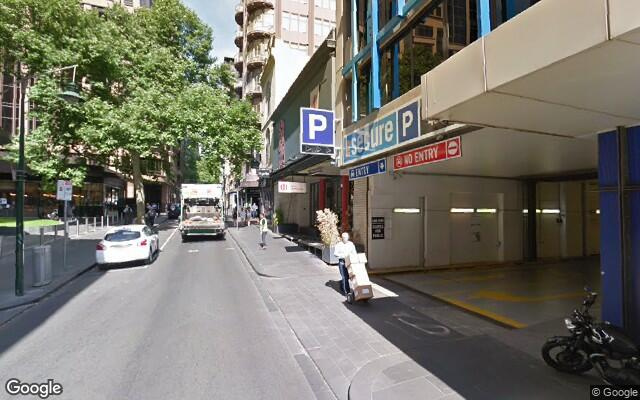 parking on Little Collins Street in Melbourne VIC