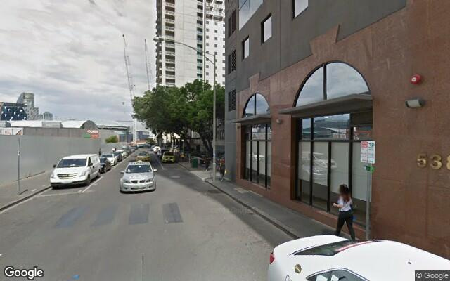 parking on Little Lonsdale Street in Melbourne VIC