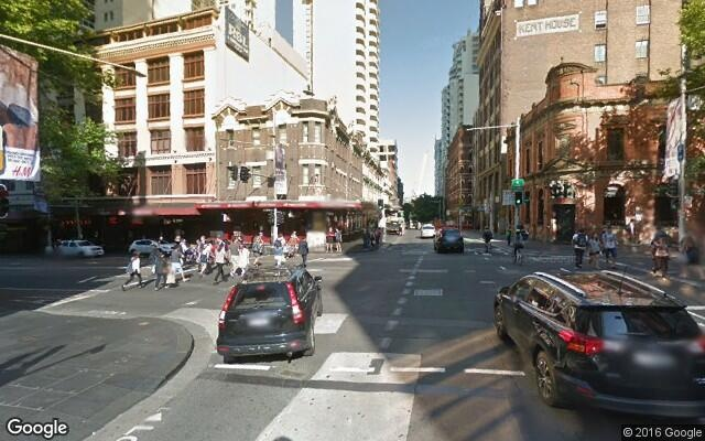 parking on Liverpool Street in Sydney