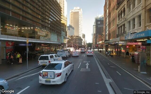 parking on Liverpool Street in Sydney NSW 2000