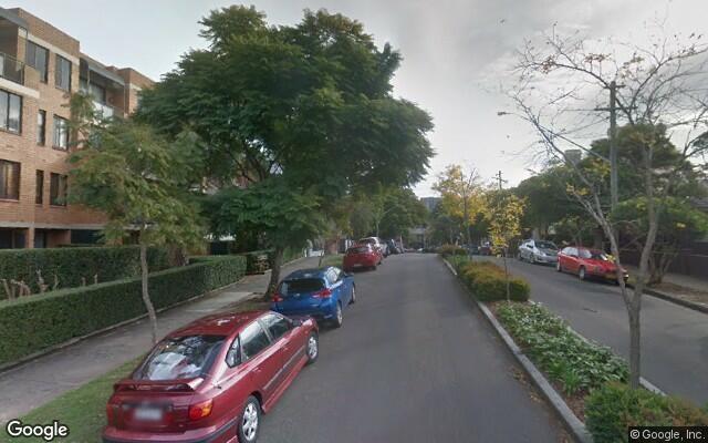 parking on Maddison Street in Redfern