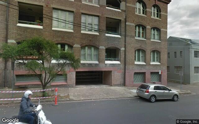 parking on Mallett St in Camperdown NSW