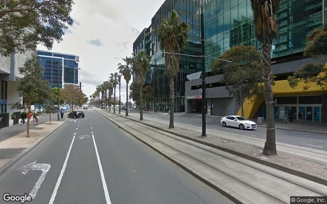 parking on Marmion Place in Docklands