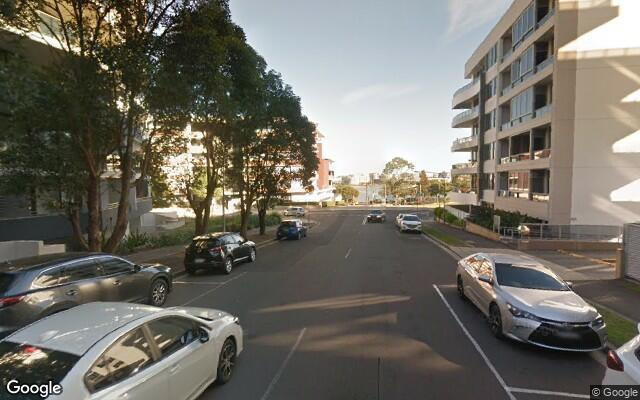 parking on Mary St in Rhodes NSW
