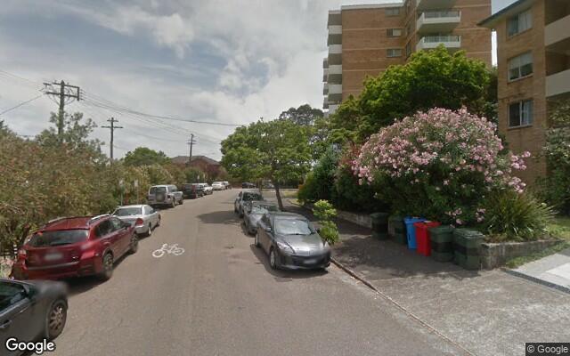 parking on Mckye Street in Waverton NSW