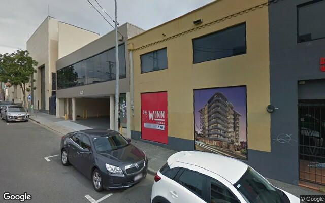 parking on McLachlan St in Fortitude Valley
