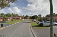 parking on McLeish Place in Thornlie