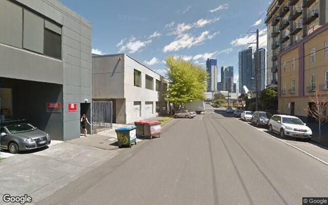 parking on Miles Street in Southbank VIC