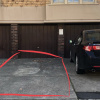 Carport parking on Mona Place in South Yarra VIC