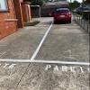 Outdoor lot parking on Montgomery Street in Moonee Ponds VIC