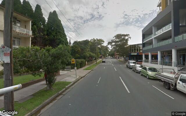 parking on Morwick Street in Strathfield NSW