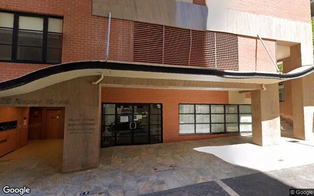 parking on Napier St in North Sydney