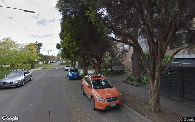 parking on Napier Street in South Melbourne VIC