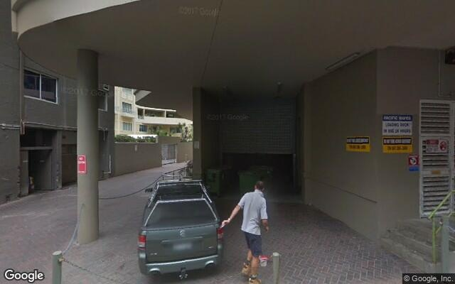 parking on North Steyne in Manly NSW