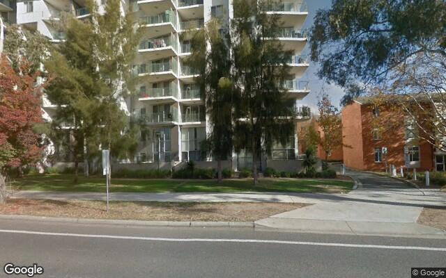 parking on Northbourne Avenue in Turner ACT