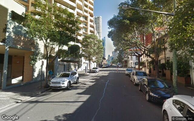 parking on Oxford Street in Darlinghurst NSW