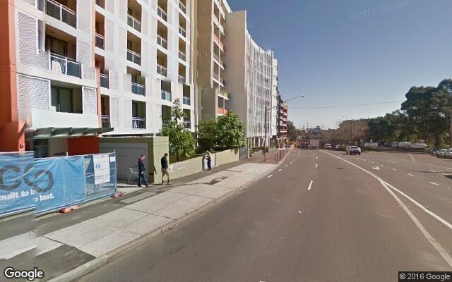 parking on Hilts Road in Strathfield