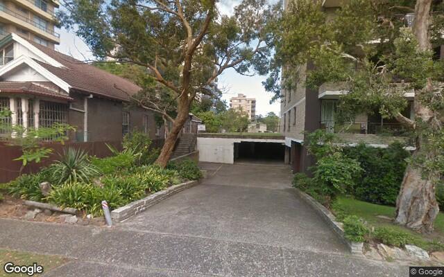 parking on Paul Street in Bondi Junction NSW