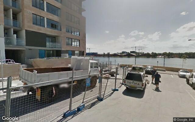 parking on Peake Ave in Rhodes