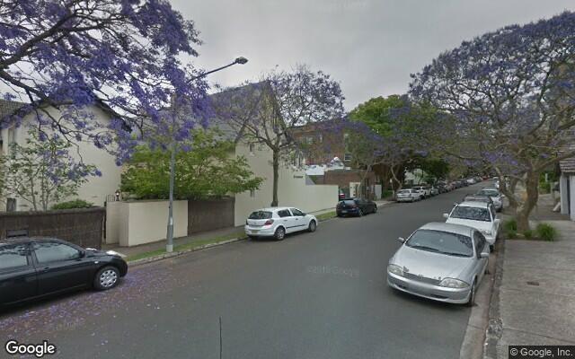 parking on Peel St in Kirribilli NSW 2061