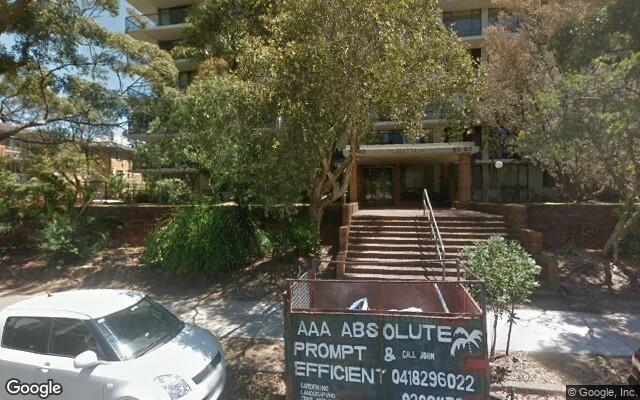 parking on Penkivil Street in Bondi NSW