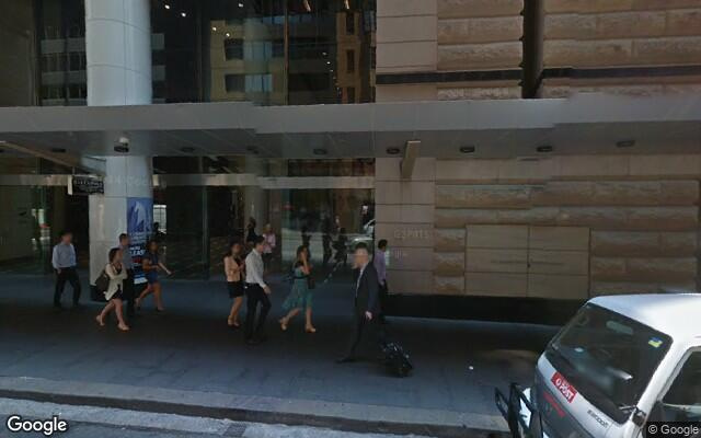 parking on Pitt Street in Sydney NSW