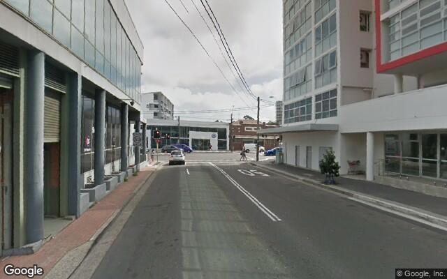 parking on Princes Highway in Rockdale NSW