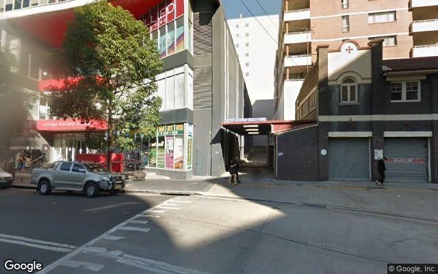 parking on Queen Street in Auburn NSW