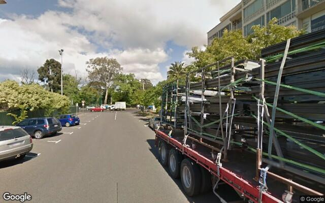 parking on Queens Road in Melbourne