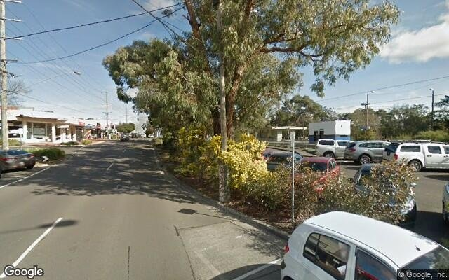 parking on Railway Avenue in Ringwood East Victoria