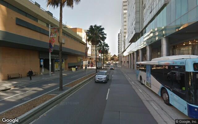 parking on Railway Parade in Burwood NSW