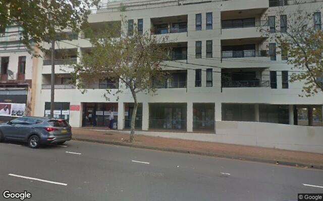 parking on Regent Place in Redfern NSW