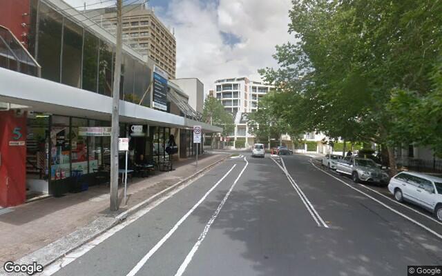 parking on Ridge St in North Sydney NSW 2060