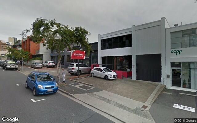 parking on Robertson Street in Fortitude Valley