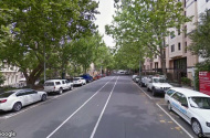 parking on Saint Andrews Place in East Melbourne VIC