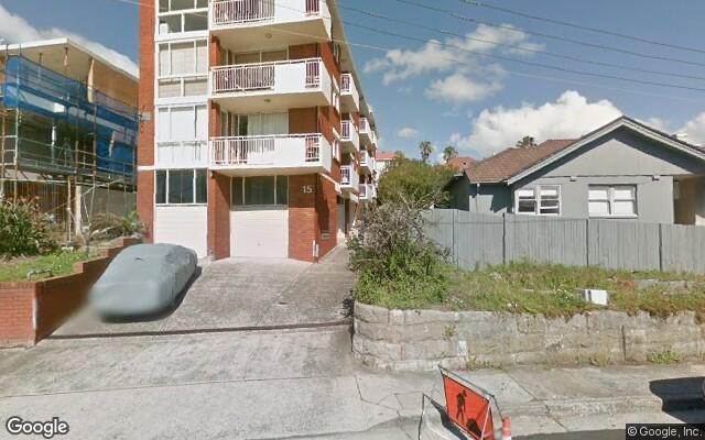 parking on Sandridge Street in Bondi