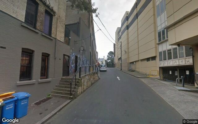 parking on Shepherd Street in Chippendale Nuovo Galles del Sud
