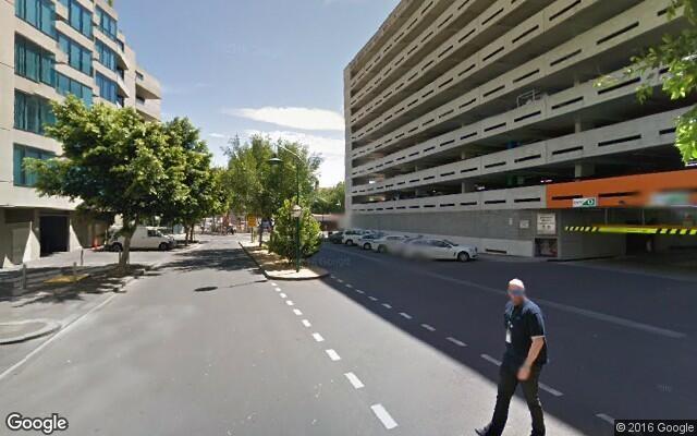 parking on Siddeley Street in Docklands