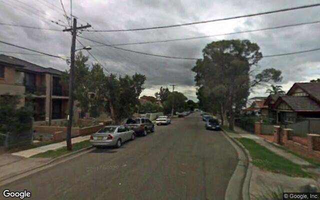 parking on Smythe St in Merrylands NSW 2160
