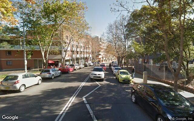 parking on Susan Street in Newtown NSW