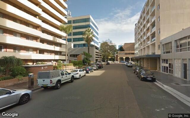 parking on Union St in Parramatta