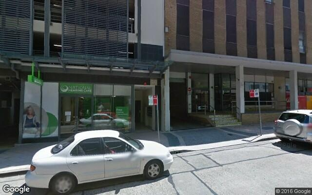 parking on Victor Street in Chatswood