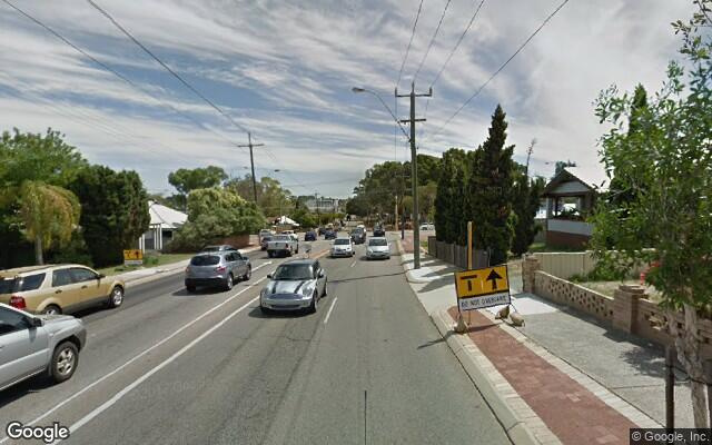 parking on Vincent Street in North Perth WA