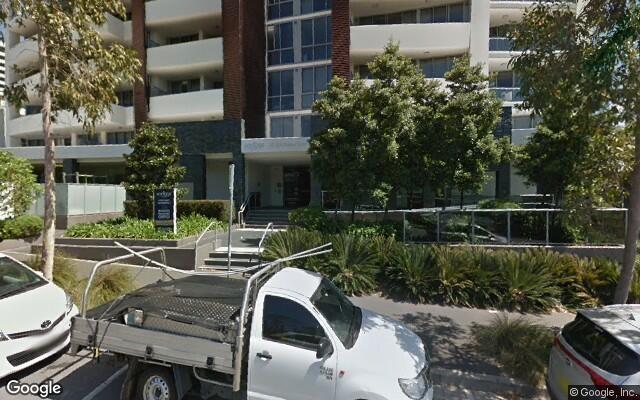 parking on Nina Gray Avenue in Rhodes NSW