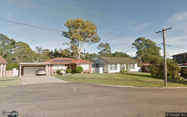 parking on Warner Pl in Greystanes NSW 2145