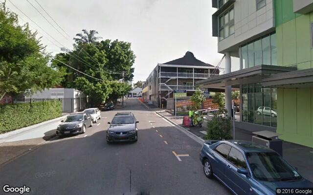parking on Water Street in Fortitude Valley