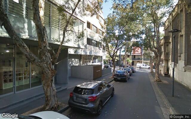 parking on Waterloo Street in Surry Hills
