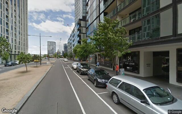 parking on Waterside Place in Docklands VIC