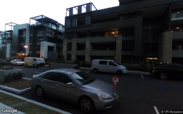 parking on Waterways street in Wentworth point
